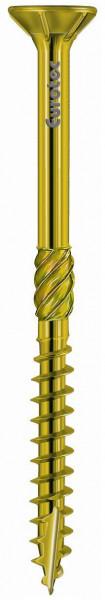 Eurotec Paneltwistec Senkkopf, Stahl gelb verzinkt; Torx Teilgewinde
