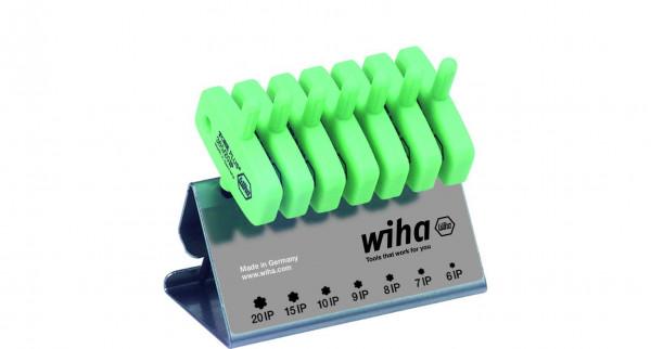 Wiha Stiftschlüssel mit Schlüsselgriff Set TORXPLUS® 7-tlg. schwarzoxidiert im Werkbankständer (26261)