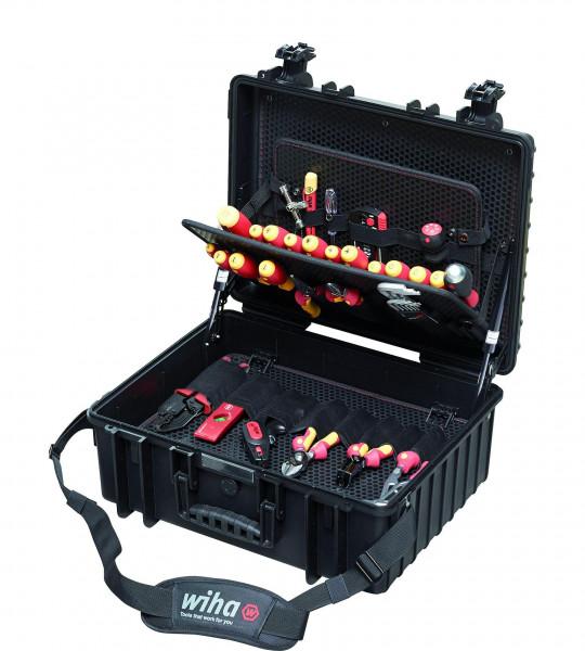 Wiha Werkzeug Set Elektriker Competence XL gemischt 80-tlg. in Koffer (40523)