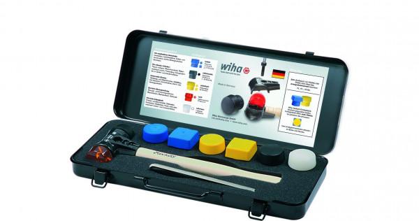 Wiha Schonhammer Set Safety mit gemischten Schlagköpfen 8-tlg. in Box (28050)