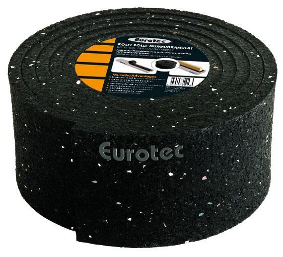 Eurotec, Rolfi, Rolle, Gummigranulat, 2015 x 70 x 8 mm