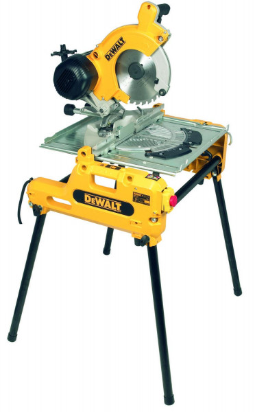 Dewalt, Tisch-, Kapp-, Gehrungssaege 2000 Watt