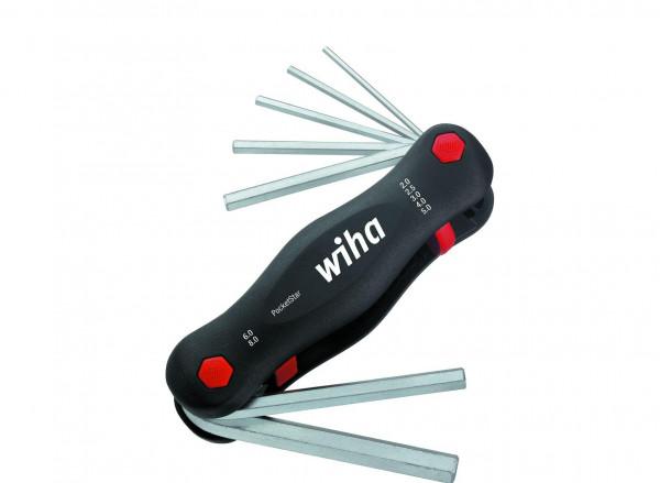 Wiha Multitool PocketStar® Sechskant 7-tlg. SB-Version mit Eurolochaufhänger (23041)