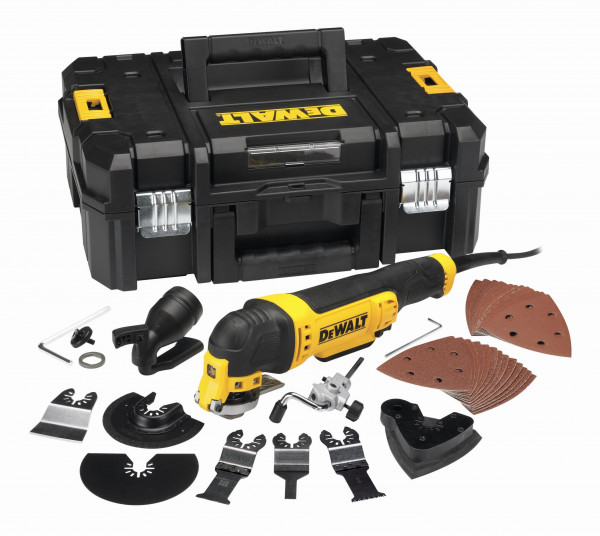 Dewalt, Osz. Multi-Tool Set 300 Watt in TSTAK
