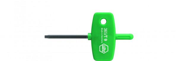 Wiha Stiftschlüssel mit Schlüsselgriff TORX® schwarzoxidiert (04918)