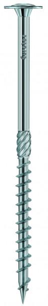Eurotec Paneltwistec AG Tellerkopf silber; weiß verzinkt, Stahl beschichtet