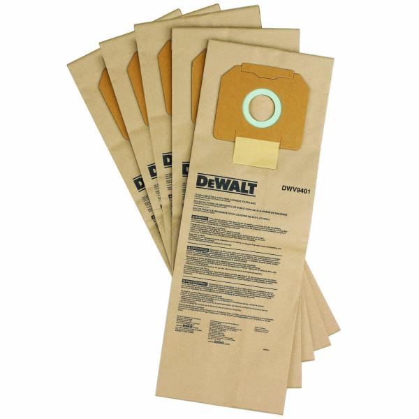 Dewalt, Papier-Staubbeutel (5 St.) DWV902M/L